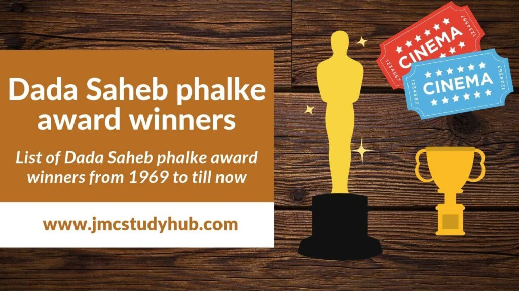 Dadasaheb Phalke award Winners- quick revision notes