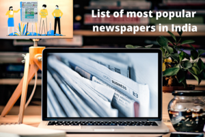 List of newspapers in India