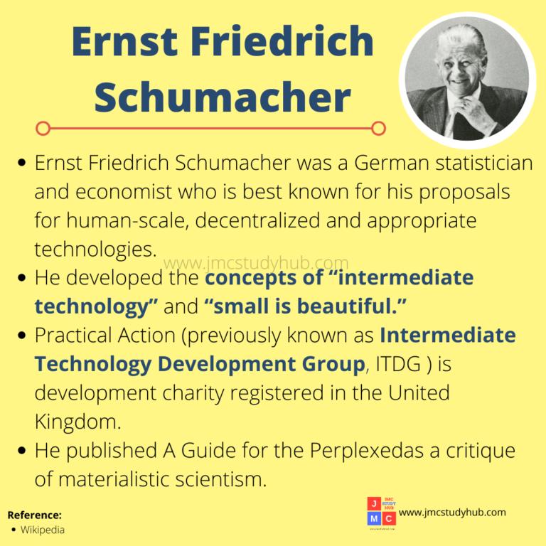 Ernst Friedrich Schumacher