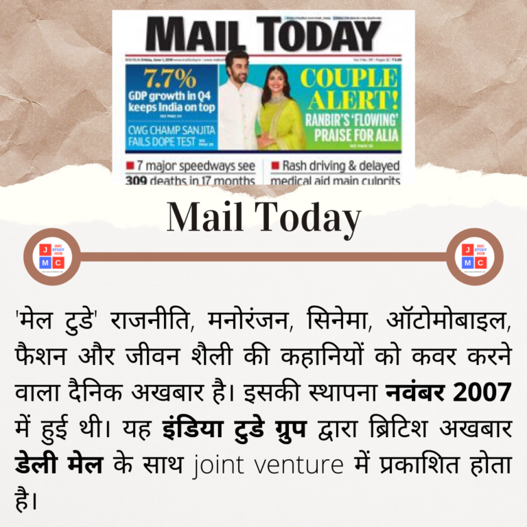 Mail Today (2007)