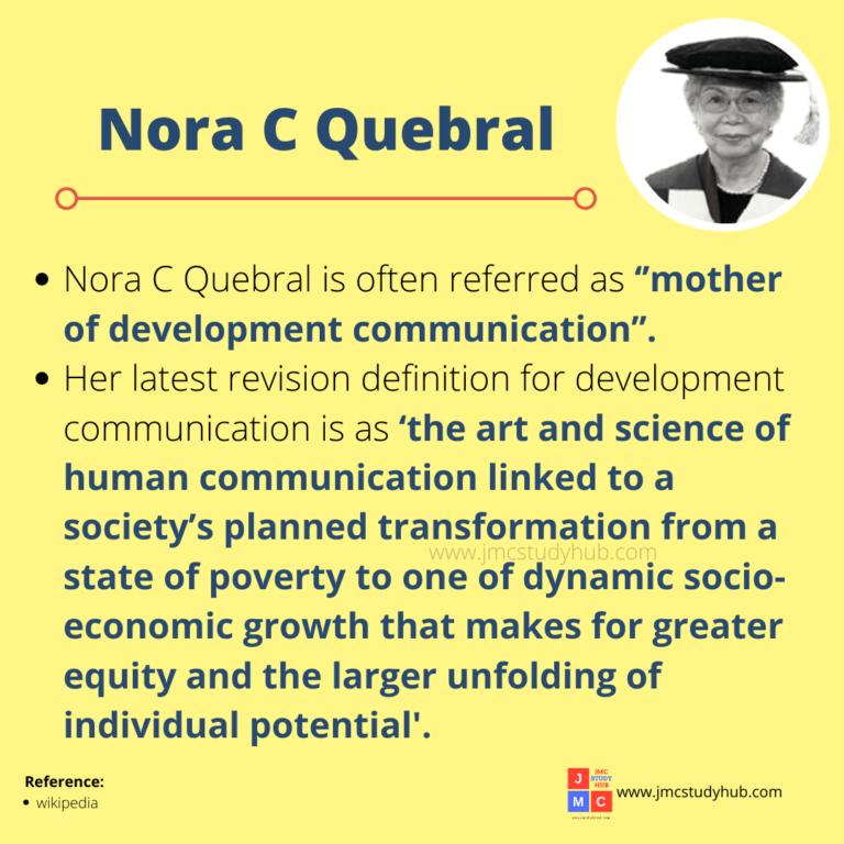 Nora C Quebral