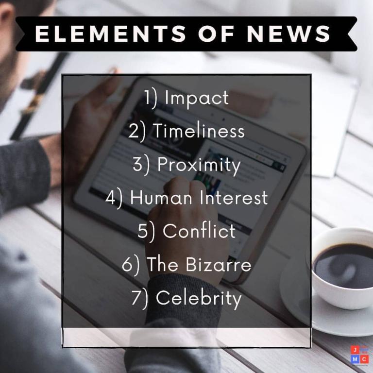 Elements of News -jmc