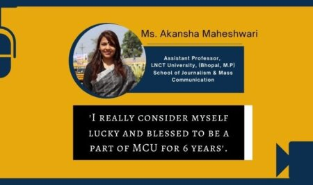 Faculty Members of MCU are real Wikipedia, Akansha