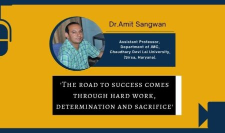 The road to success comes through hard work, determination and sacrifice – Dr. Amit