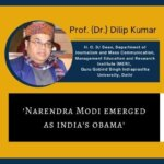 Narendra Modi emerged as India's Obama - Dr. Dilip
